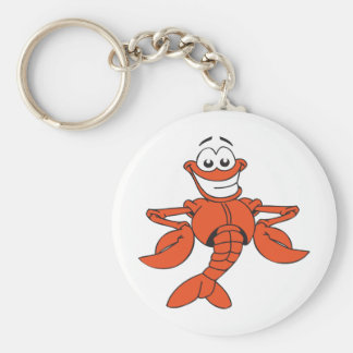 Funny Lobster Key Ring