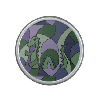 Funny Loch Ness Monster Abstract Bluetooth Speaker