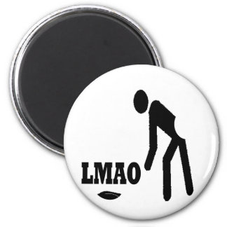 Funny LOL Products 6 Cm Round Magnet