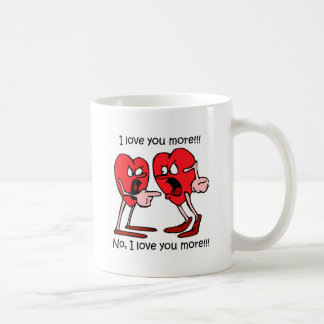 Funny love basic white mug