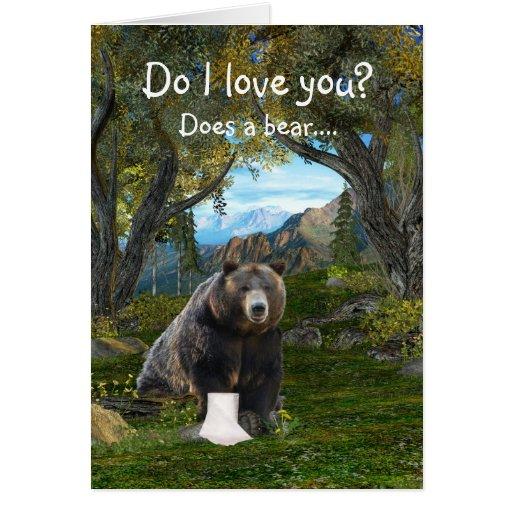 Funny love card