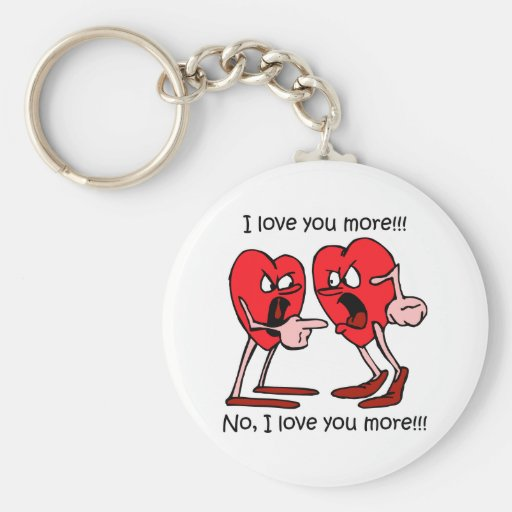 Funny love keychain