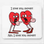 Funny love mousemats