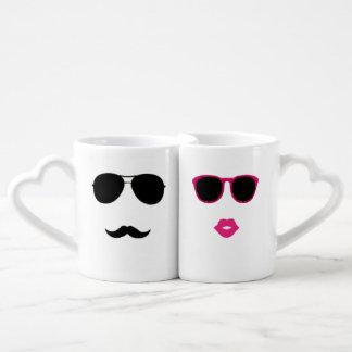 funny lovers Coffee Mug Set