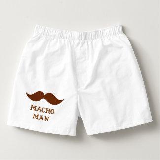 Funny Macho Man Mustache Boxers