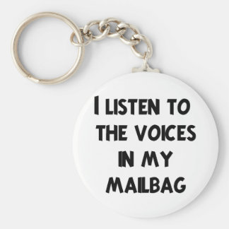 Funny Mail Carrier T-shirts and Gifts Key Chains