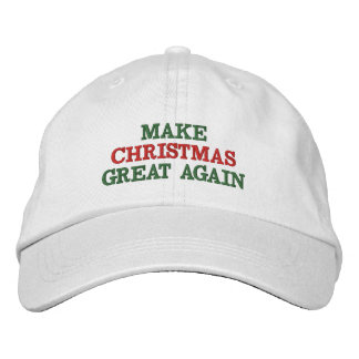 Funny Make Christmas Great Again Hats Baseball Cap