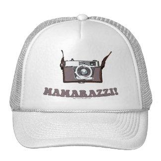 Funny Mamarazzi Photographer Cap