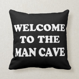 Funny Man Cave Pillow