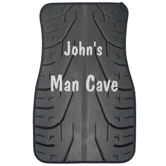 Funny Man Cave Tire Tread Car Mats Car