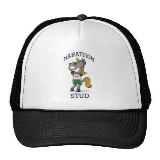 Funny Marathon Stud design Trucker Hat