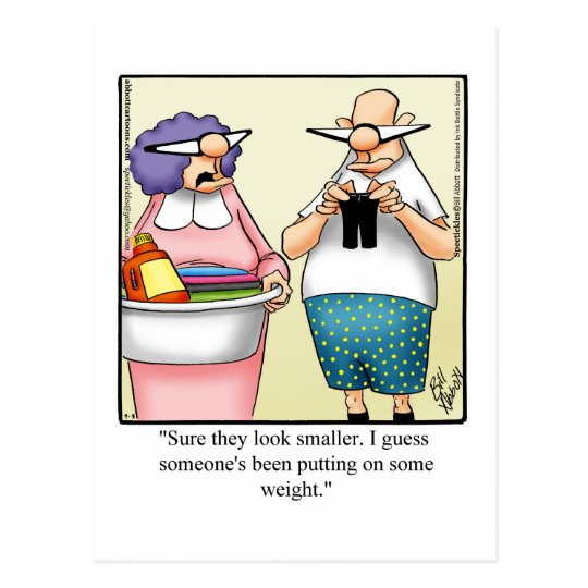 Funny Marriage Humour Postcard