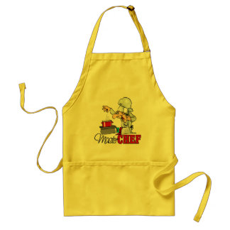 Funny Master Chef Gift Adult Apron