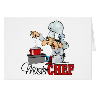Funny Master Chef Gift Card