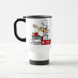 Funny Master Chef Gift 15 Oz Stainless Steel Travel Mug