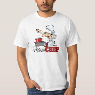 Funny Master Chef Gift Tee Shirt
