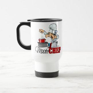 Funny Master Chef Gift Travel Mug