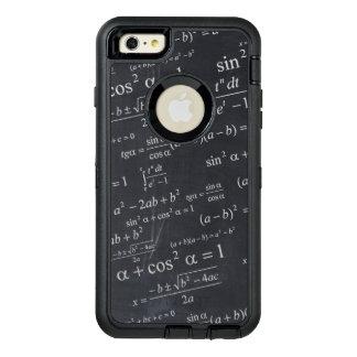 Funny Math Formula Chalkboard Geek Teacher Student OtterBox Defender iPhone Case