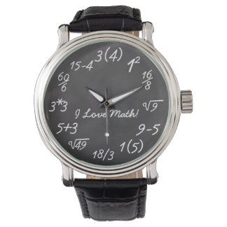 Funny Math Geek Watch