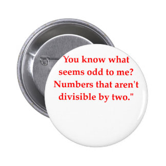 funny math joke pin