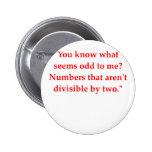 funny math joke buttons