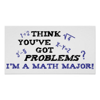 funny math major poster