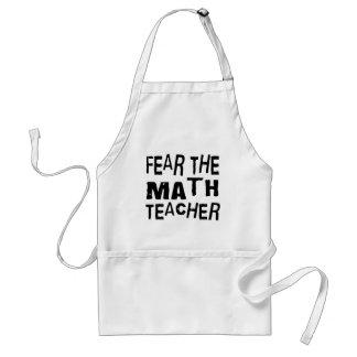 Funny Math Teacher Standard Apron