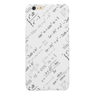 Funny Mathematics Formulas Math Geek iPhone 6 Plus Case