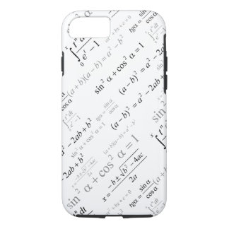 Funny Mathematics Formulas Math Geek iPhone 7 Case