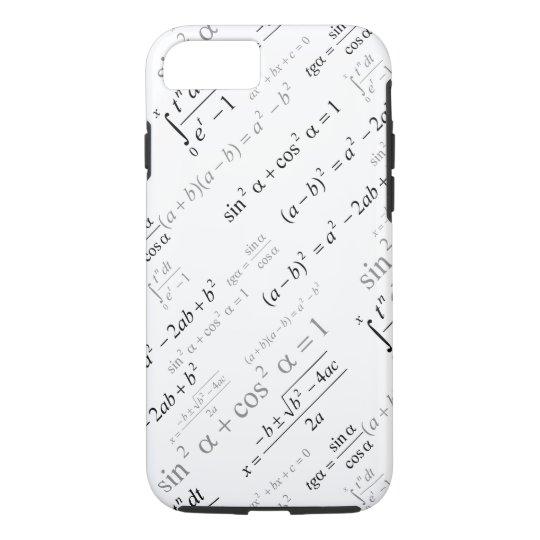 Funny Mathematics Formulas Math Geek iPhone 7 Case