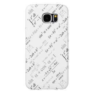 Funny Mathematics Formulas Math Geek Samsung Galaxy S6 Cases