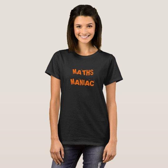 Funny Maths Teacher Lecturer Graduate Joke Slogan T-Shirt