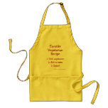 Funny Meatatarian BBQ Grill Apron