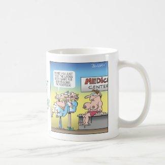 Funny medical cartoons mug