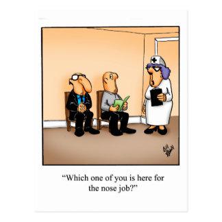Funny Medical Humor Postcard