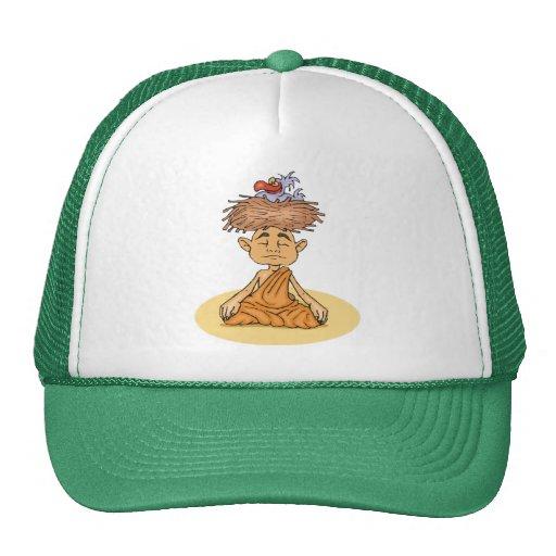 Funny Meditation Mesh Hat