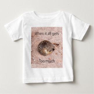 Funny Meerkat Baby T-Shirt