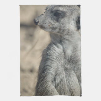 Funny Meerkat Kitchen Towel