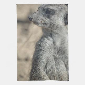 Funny Meerkat Tea Towel