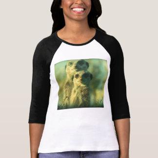 Funny meerkats t shirt