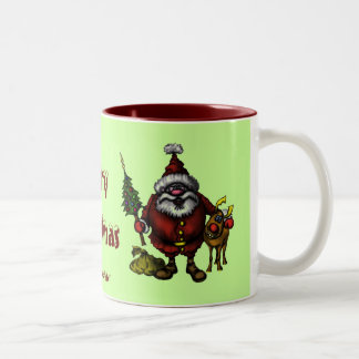 Funny Merry Christmas mug design