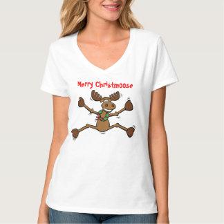 Funny Merry Christmoose Shirt