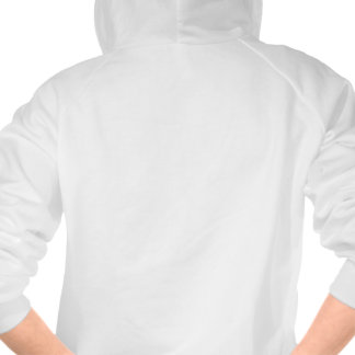 Funny message hoody for women.