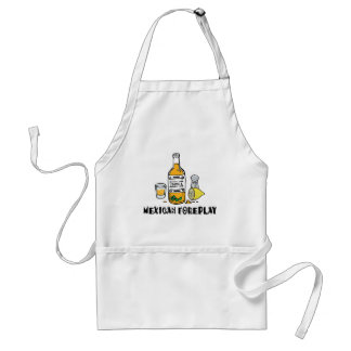 Funny Mexican Foreplay Standard Apron