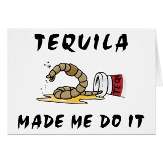 Funny Mexican Tequila Card
