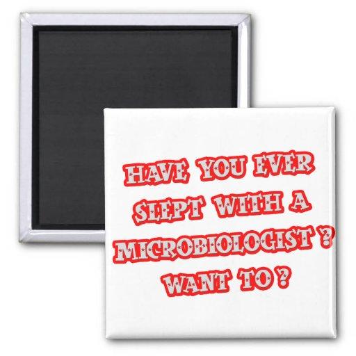 Funny Microbiologist Pick-Up Line Fridge Magnet