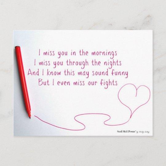 Poem still missing you I Miss