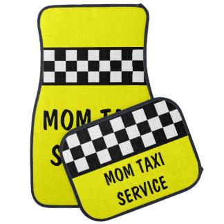 Funny Mom Taxi Service Car Mats Set Floor Mat