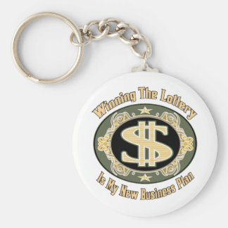 Funny Money Gifts Basic Round Button Key Ring