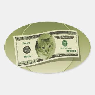Funny Money Sticker